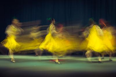 Желтые танцовщицы