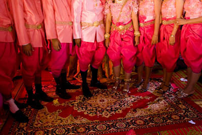 Khvay Samnang, Wedding, 2009, C-print, 60 X 90 cm, Edition of 7 + 1AP<br /> courtesy the artist and SA SA BASSAC