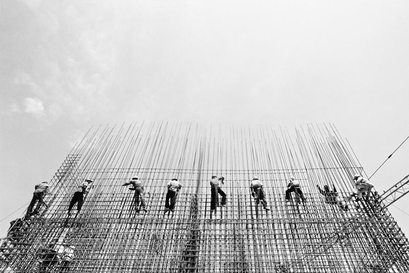 Vandy Rattana, First High Rise, 2008, C-print, 60 X 90 cm, Edition 5+1AP<br /> courtesy the artist and SA SA BASSAC