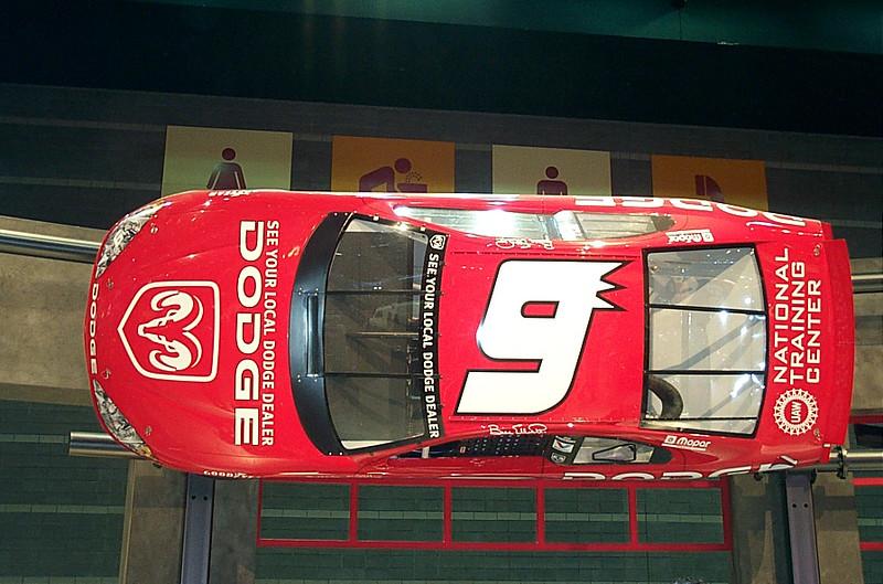 Dodge race car