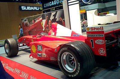 Ferrari racecar