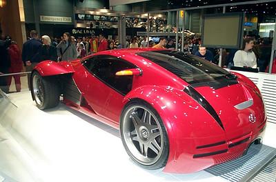Concept car: Lexus Minority Report