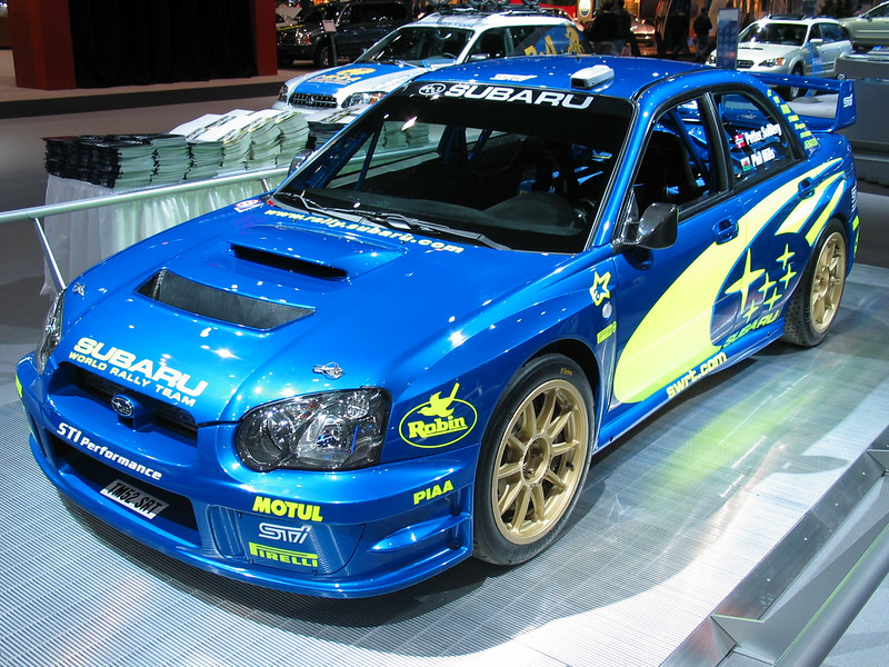 Subaru Rally car