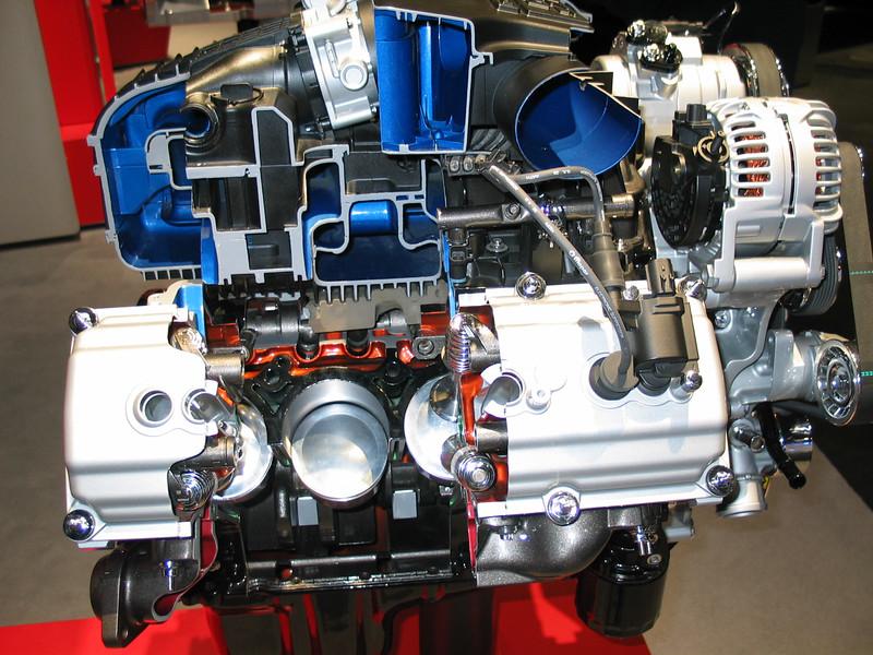 Dodge cutaway engine