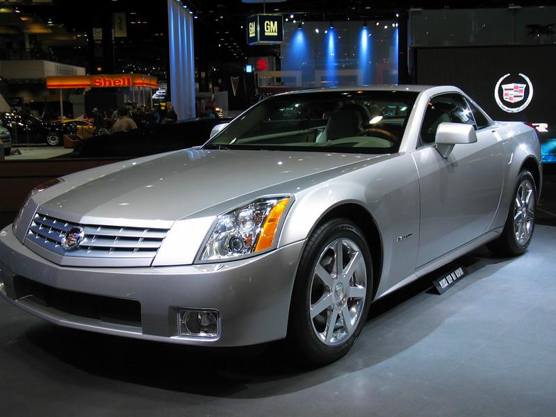 Cadillac XLR concept