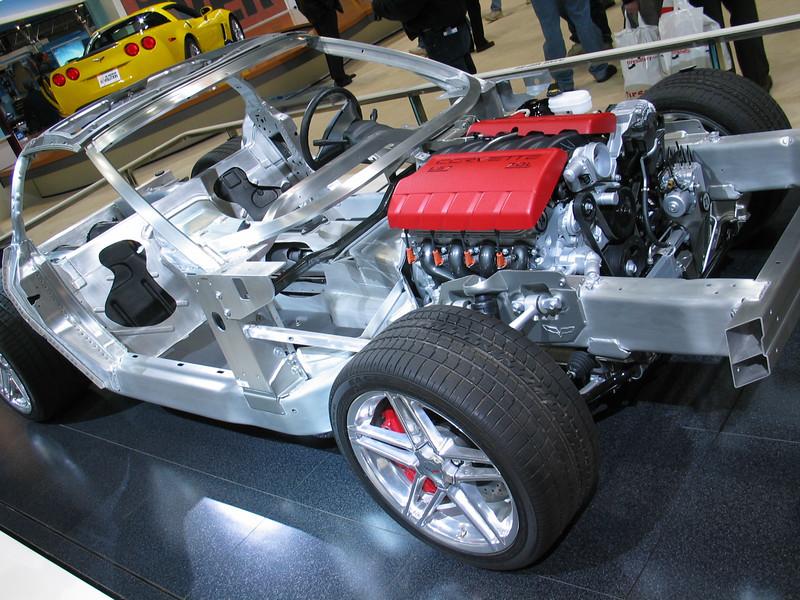 2006 Chevrolet Corvette Z06 (naked)