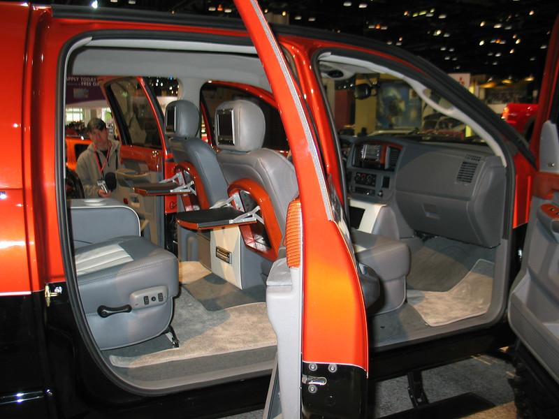 Dodge Ram MegaCab (interior)