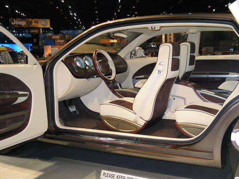 Concept: Dodge Imperial (interior)