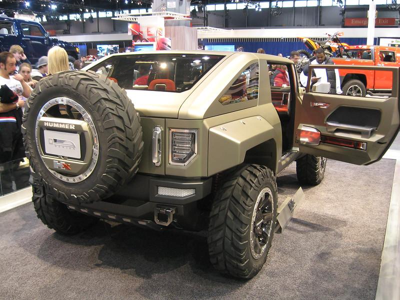 Concept car: Hummer HX