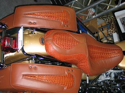 Alligator seat covers