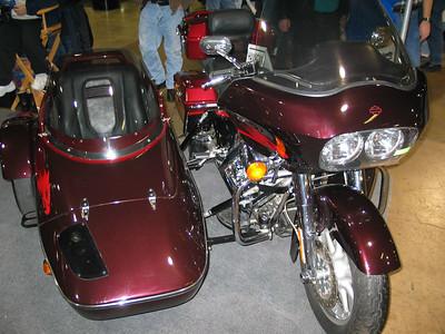 Harley Davidson with side car