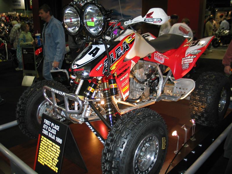 First Place ATV Class 2005 Baja 1000