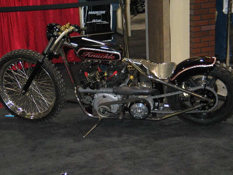 Custom Harley Davidson Knucklehead (Knickeled Knuckle)