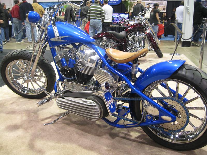 Baluu Bobber' Custom bike