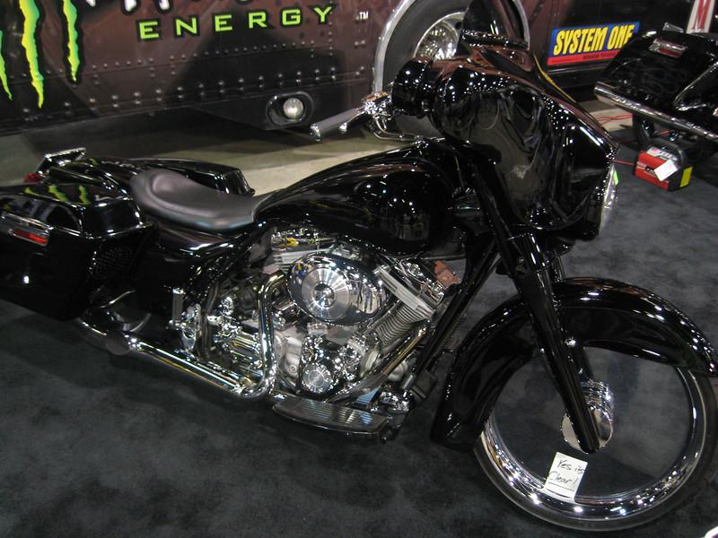 Custom bike (clear front wheel)