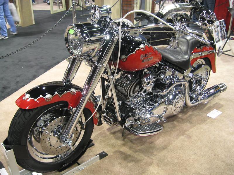 Fearless Villain' Harley-Davidson custom bike