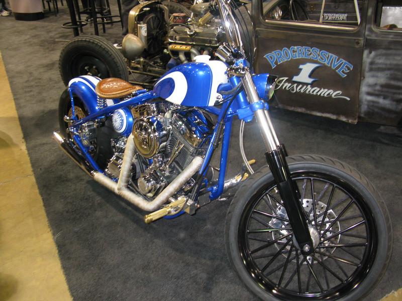 Progressive custom bike