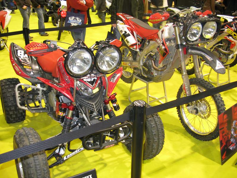 Honda Baja bike & ATV