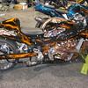 Adam's Hayabusa custom bike