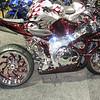Red & Sexy custom bike