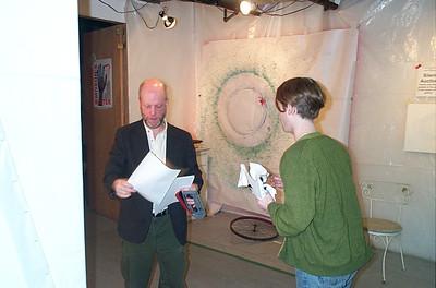 Patrick McCarthy Puppet Co.) and Dave Pecoraro