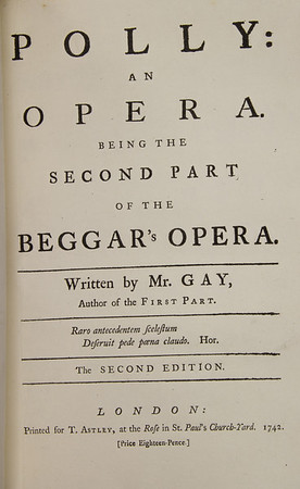John Gay's Ballad Opera, Polly (1729)