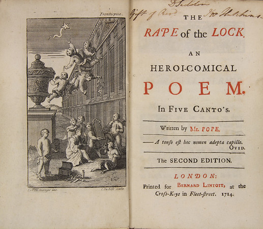 Alexander Pope: Rape of the Lock