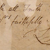 Laurence Sterne: autograph letter