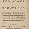 Henry Fielding: The History of Tom Jones (1749)