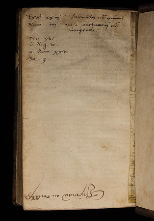 16th century notes