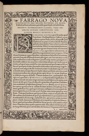 16th century woodcut border