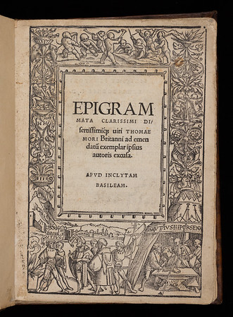 Title page of Epigrammata