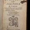 Title page of Epistolae ad Atticum, ad M. Brutum, ad Q. Fratrem