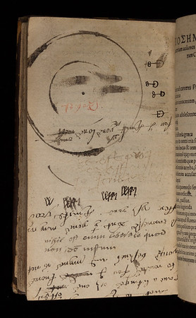 16th century notes and drawings