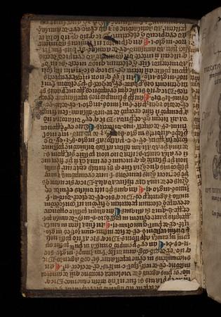 Manuscript waste, 15th century