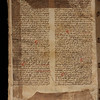 14th century manuscript waste