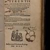 Title page of Comoediae sex elegantissimae