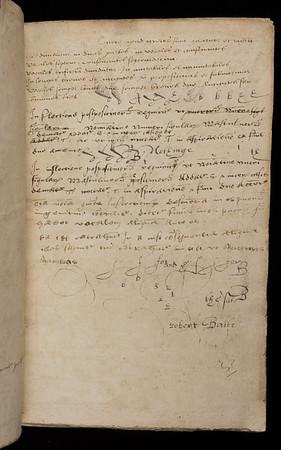 16th century annotation