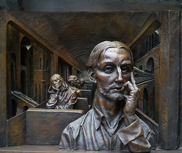 "Mike Crowley - ""Bronze Sculpture"" Highly Commended Print"