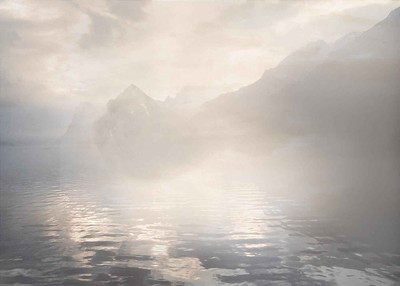 "Joe Hastings - ""Mist, Water and Mountains"" Highly Commended Print"