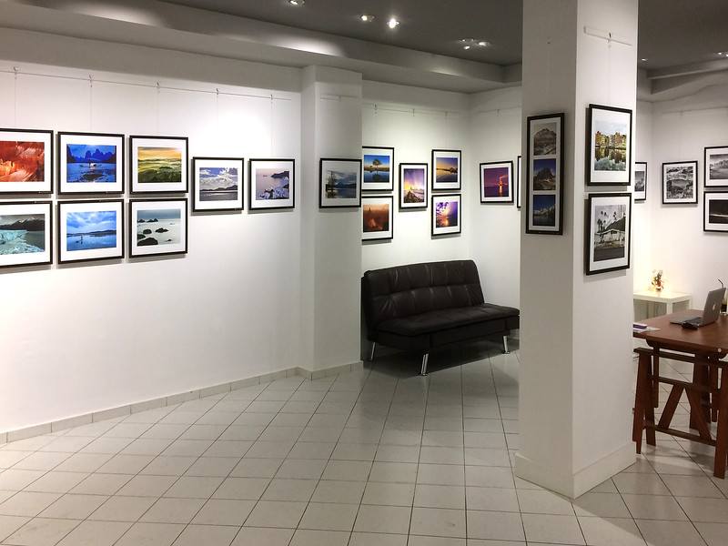 Blank Wall Gallery Exhibition