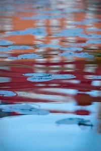 Reflektion i rött