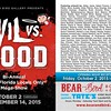 Evil Vs Good Show at Bear and Bird Boutique + Gallery<br /> <br /> Opening Night Artist Reception: Friday, October 2, 2015 from 6-10pm<br /> <br /> Exhibition Run Dates: October 2 – November 14, 2015