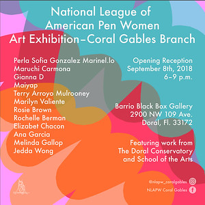 New Beginnings Art Show- National League of American Pen Women Coral Gables