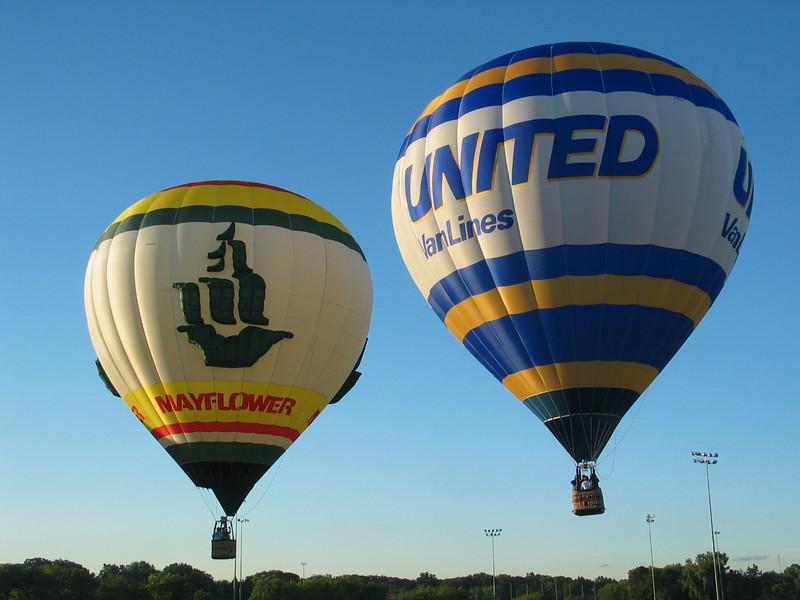 Mayflower & United Van Lines Balloons