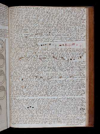 "One of many handwritten pages, created to replace printed pages missing from this copy. Includes Morley's explanation of the hexachordal series (see previous page). <br><br> <b>Author:</b> Thomas Morley<br> <b>Title:</b><i> A plaine and easie introduction to practicall musicke</i>, 2nd ed. (London, 1608) <br> <b>Shelfmark:</b> <a href=""http://idiscover.lib.cam.ac.uk/permalink/f/1nnjft8/44CAM_ALMA21584762960003606""> D.2.30</a>"