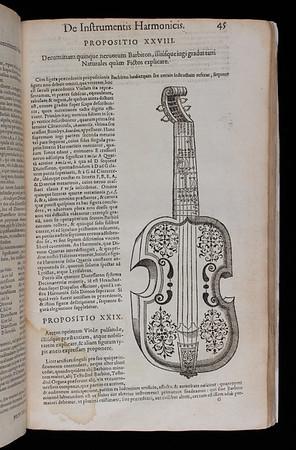 "<b>Author:</b> Marin Mersenne<br> <b>Title:</b><i> Harmonicorum</i> [Harmonics] (Paris, 1636) <br> <b>Shelfmark:</b> <a href=""http://idiscover.lib.cam.ac.uk/permalink/f/1nnjft8/44CAM_ALMA21586143390003606""> D.1.17</a> <br> <b>Provenance:</b> Bequeathed to Queens' College by John Smith"