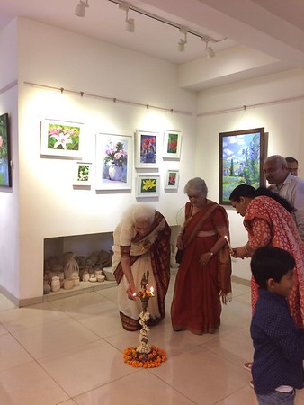 Inaugurating an Art Exhibition - 20th July