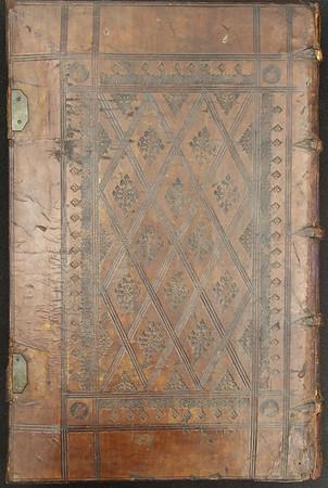 16th century calf binding of Rabbinic Bible
