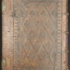 16th century calf binding of Rabbinic Bible